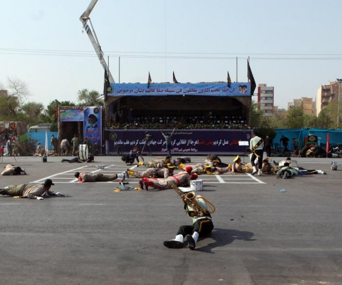 Attack on Iran military parade kills 24