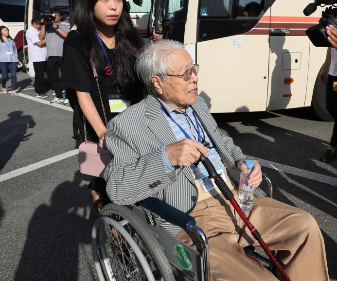 South, North Korea families reunite 65 years after war
