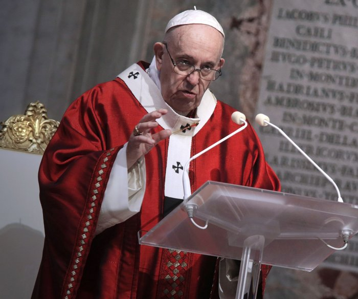 Pope Francis says COVID-19 has exposed 'broadest social ills'