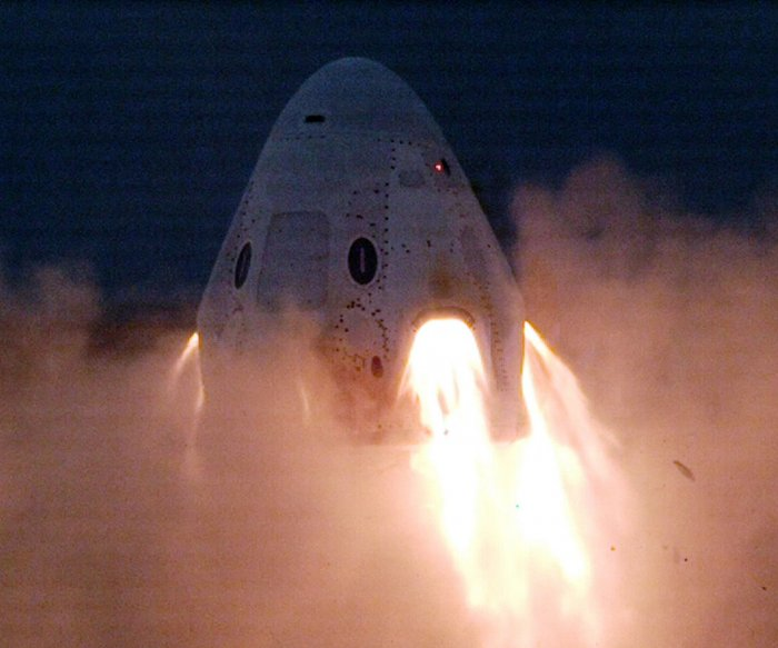 SpaceX test Saturday could be final one before firm carries people