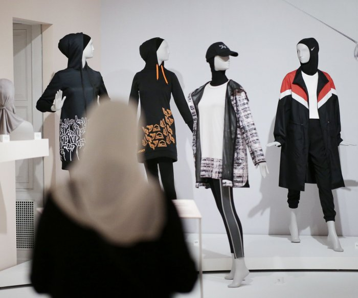 Muslim fashion on display at Cooper Hewitt museum in N.Y.
