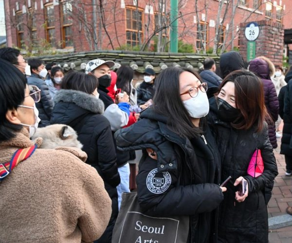 South Korea holds crucial college entrance exam amid pandemic