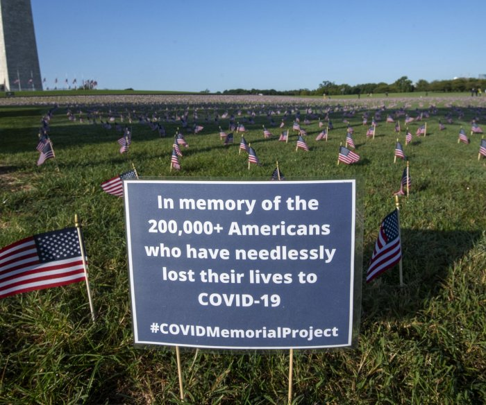 U.S. again tops 60K new COVID-19 cases; surgeon general rejects 'herd immunity'