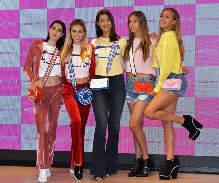 Samantha Thavasa fashion event in Tokyo