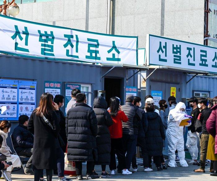 South Korea coronavirus cases top 2,300 as authorities ramp up testing