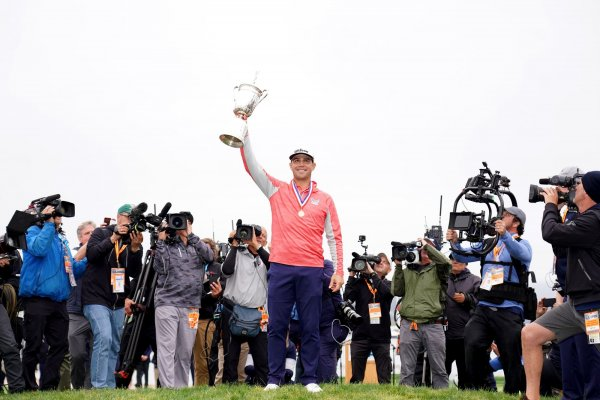 Gary Woodland wins golf's U.S. Open