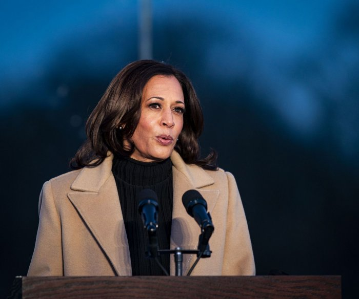 Kamala Harris reflects on women who 'paved the way' for historic inauguration