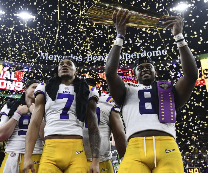 LSU wins College Football Playoff National Championship