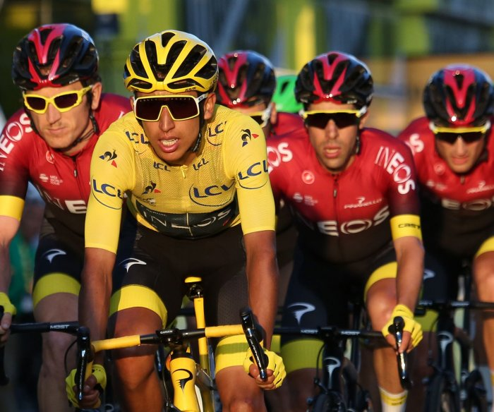 Egan Bernal of Colombia wins Tour de France