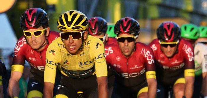Egan Bernal of Colombia wins Tour de France