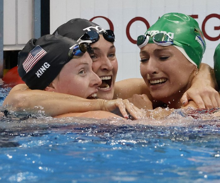 American swimmers Lilly King, Ryan Murphy snag silver medals in Tokyo
