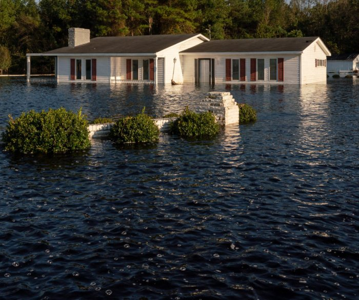 Records: Climate change increasing hurricanes, storms, floods