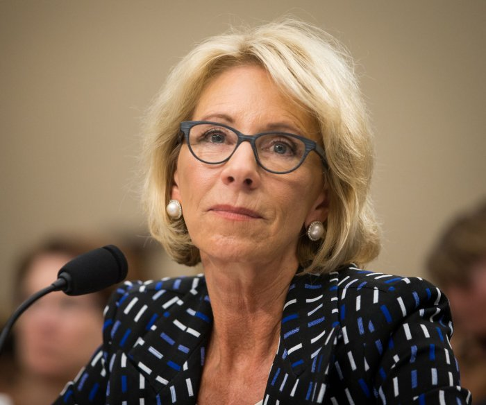 DeVos details Education Department priorities with $9B budget cut