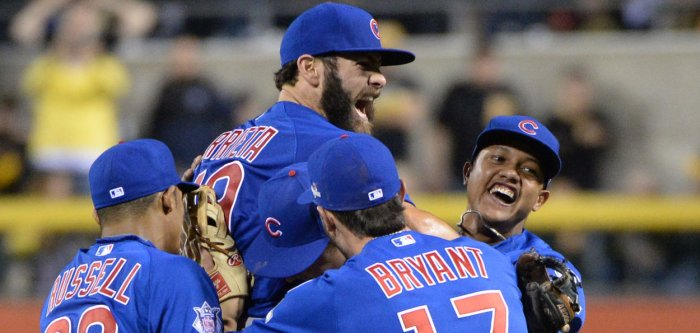 Chicago Cubs win NL Wild Card game