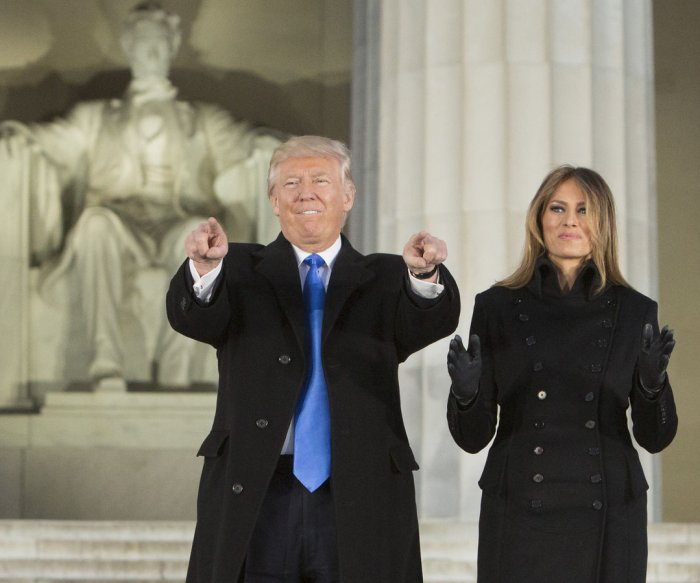 Watch live: Donald Trump becomes 45th president