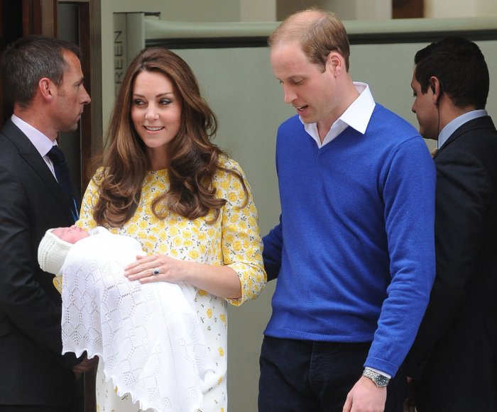 Duchess of Cambridge welcomes baby daughter