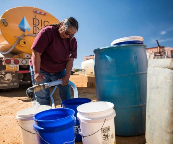 Fresh water runs for the first time in Navajo Nation homes