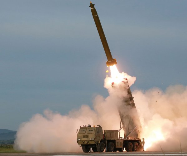North Korea says it tested 'super-large' rocket launcher