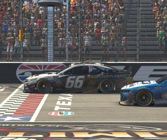 Timmy Hill wins second virtual NASCAR race