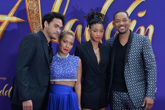 Will Smith, his family and cast attend the 'Aladdin' premiere