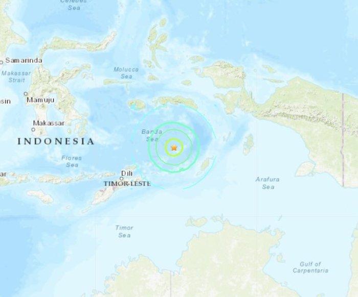 7.3 earthquake strikes Indonesia, shakes Australia