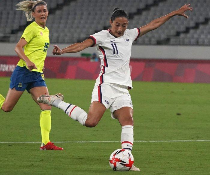 Weekend sports: U.S. women's soccer, Olympic golf, tennis, baseball