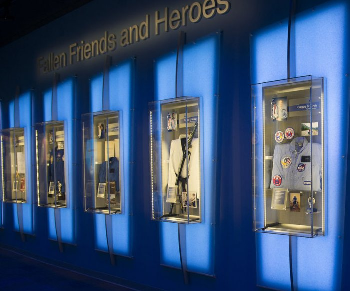 'Forever Remembered' exhibit at The Kennedy Space Center