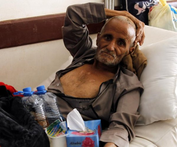 WHO: More than 1,300 now dead in Yemen's cholera epidemic