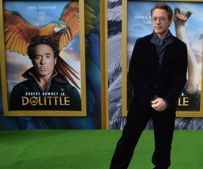 Robert Downey Jr., Selena Gomez attend 'Dolittle' premiere