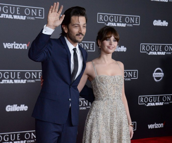 'Rogue One: A Star Wars Story' premieres in Los Angeles
