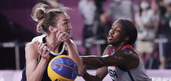 Tokyo Olympics: Moments from 3x3 basketball