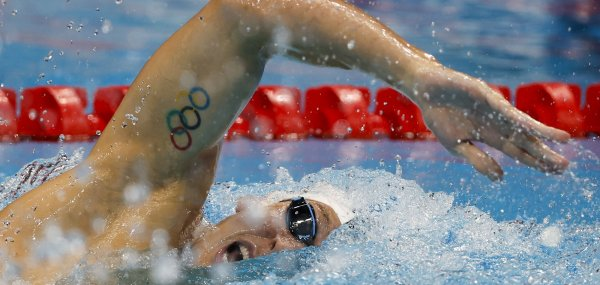 Olympic ink: Athletes sporting tattoos