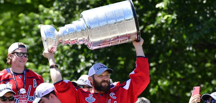 The Washington Capitals celebrate first Stanley Cup win with parade