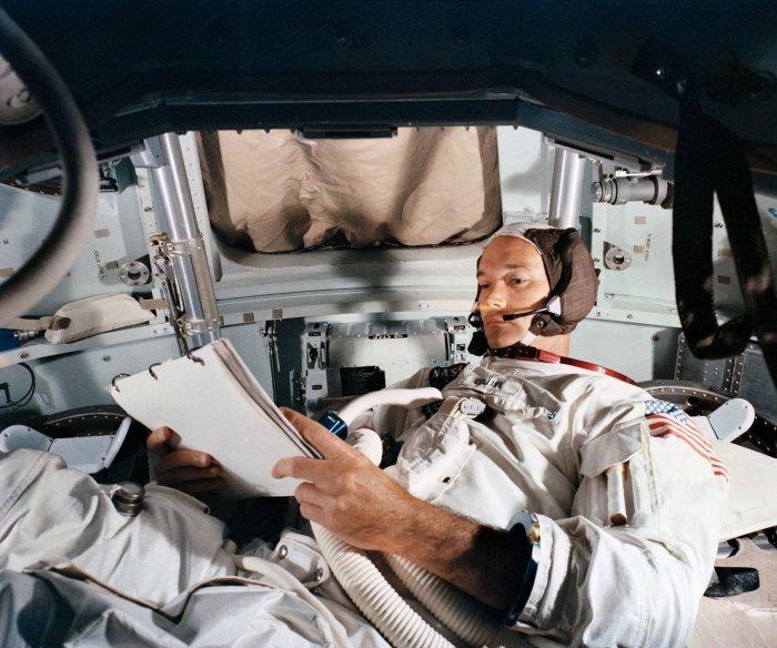 U.S. should skip moon, head for Mars, Apollo 11's Michael Collins says