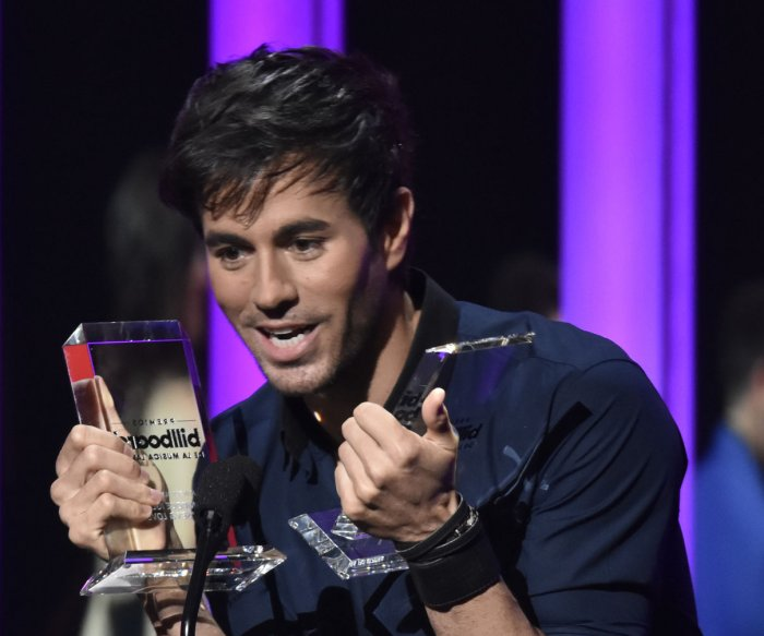 Enrique Iglesias, Luis Fonsi honored at the Billboard Latin Music Awards