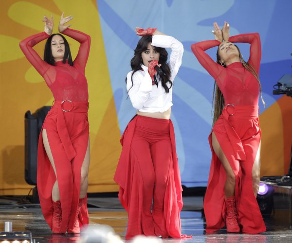 Camila Cabello performs on 'Good Morning America'
