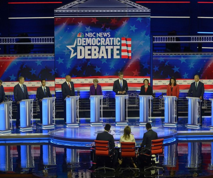 20 Democratic candidates qualify for second primary debate
