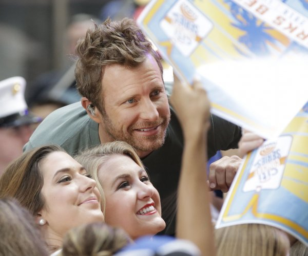 Dierks Bentley performs on NBC's 'Today' show