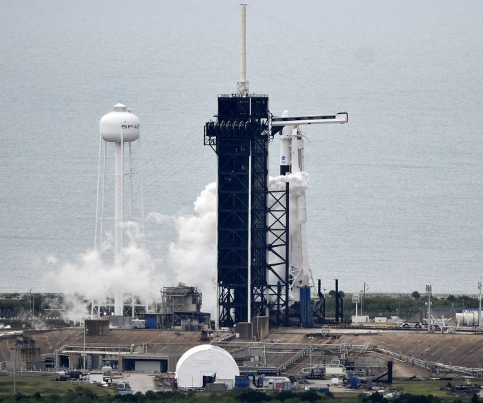 Watch live: NASA, SpaceX to battle storms again for historic launch