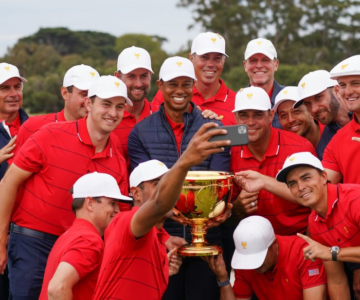 Tiger Woods rallies U.S. team to Presidents Cup victory