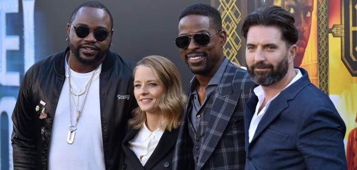 Sterling K. Brown, Jodie Foster attend 'Hotel Artemis' premiere