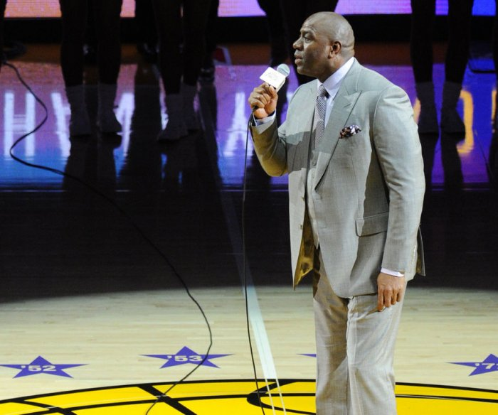 Magic Johnson named to top Lakers post; GM Kupchak fired