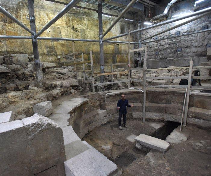 Jerusalem dig uncovers 200-seat Roman theater