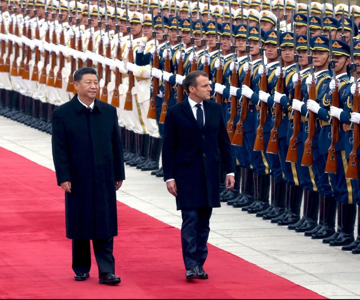 China, France vow to grow cooperation amid U.S. trade tensions