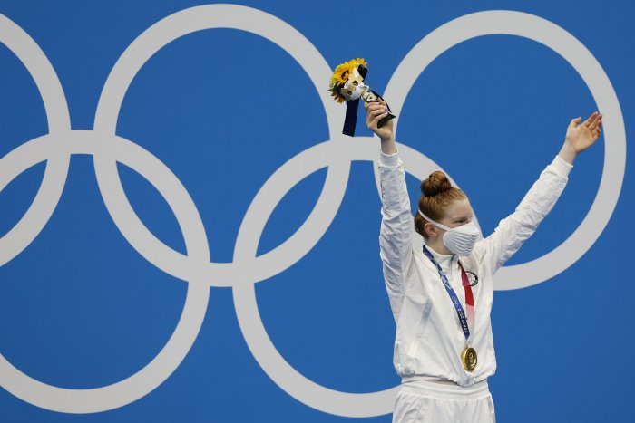 Tokyo Olympics: Moments from women's swimming