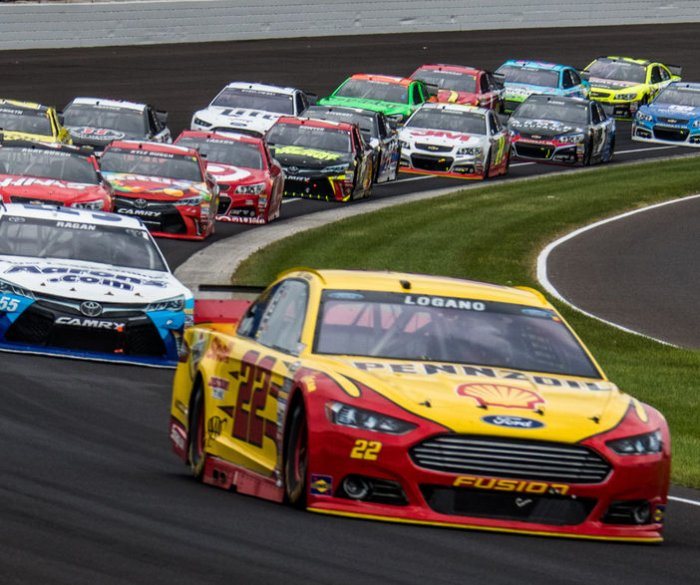 The Brickyard 400 in Indianapolis