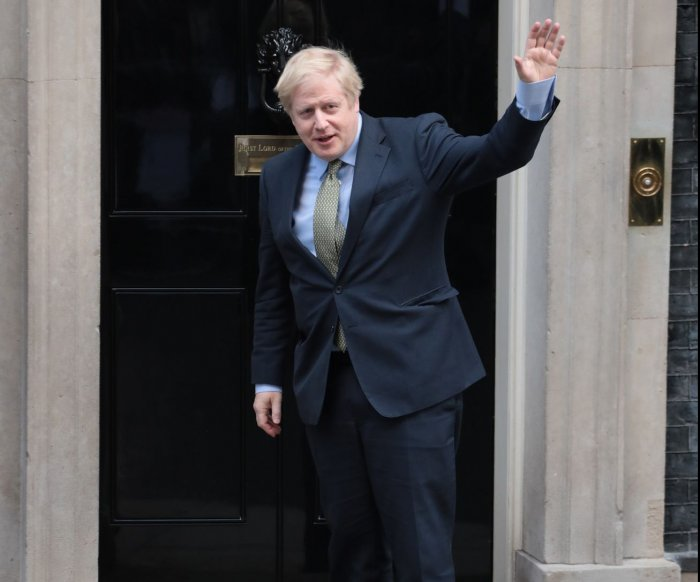 Boris Johnson leads Conservatives to largest majority since 1987