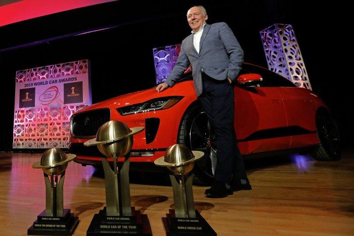 Jaguar wins World Car Award at New York auto show