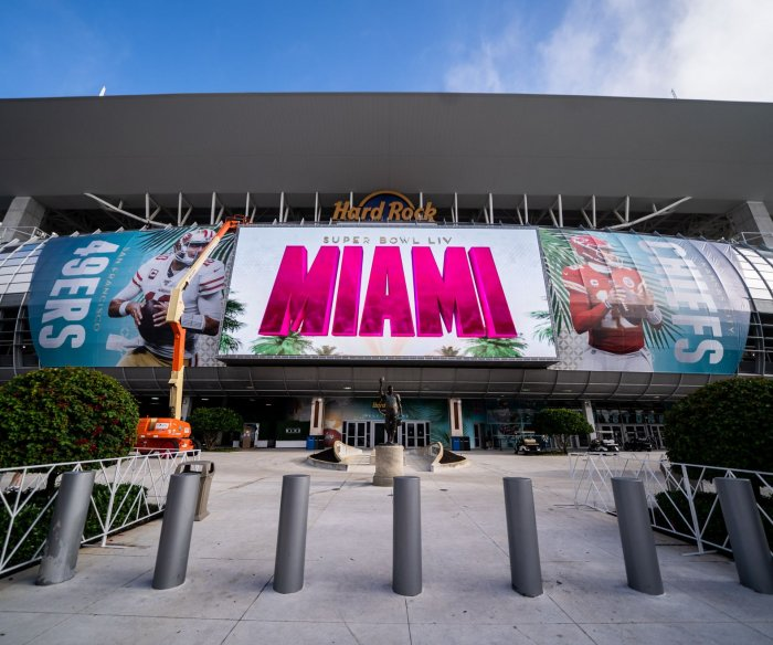 Miami prepares for Super Bowl LIV