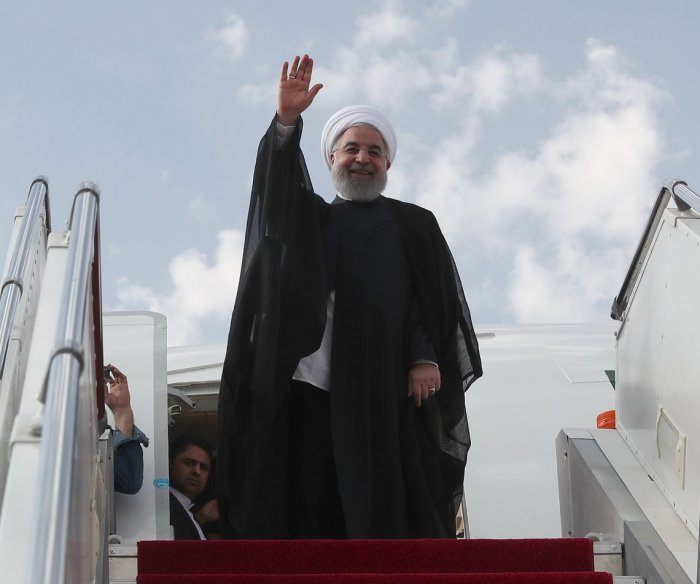 Iran's Rouhani: 'Bullying' U.S. wants to cause insecurity in nation